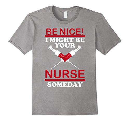 hre Krankenschwester Someday Lustige Weihnachts Geschenk TShirt Gr. Männlich XXL, slate ()