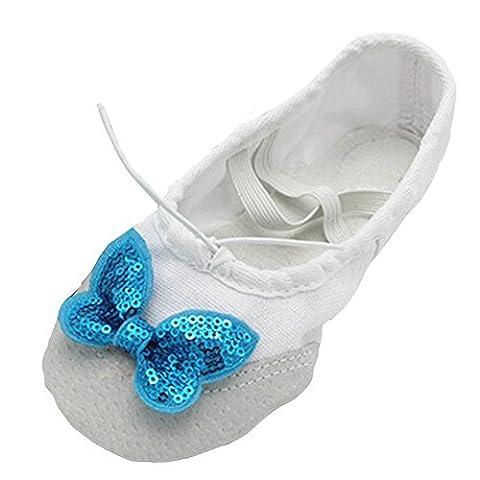 lisianthus002Little Kid split-sole Ballet avec pantoufles - Multicolore - C, 18
