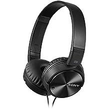 Sony Kopfhörer MDR-ZX110NA faltbarer Bügelkopfhörer mit Digital Noise Canceling, schwarz