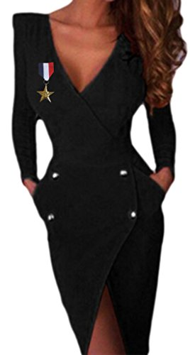 erdbeerloft - Damen Stewardessen Army Uniform Kostüm, L, (Kostüme Uniform Stewardess)