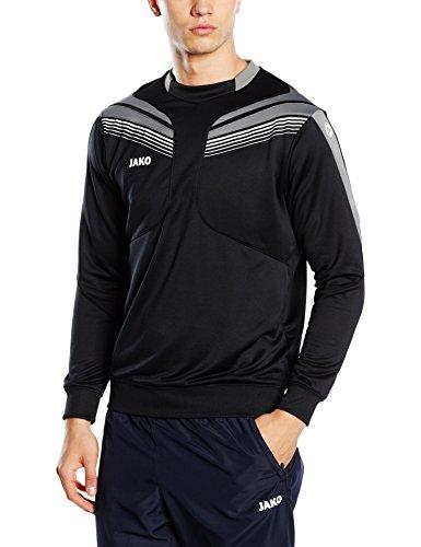 JAKO Herren Trainingssweat Pro 8840 Mehrfarbig (Schwarz/Grau/Weiß)