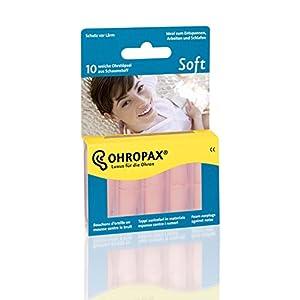 Ohropax Ohrstöpsel Soft, 2er Pack (2 x 10 Stück)