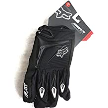 Fox Racing - Guante MX 360 para bicicletas BTT, motocross MX Negro