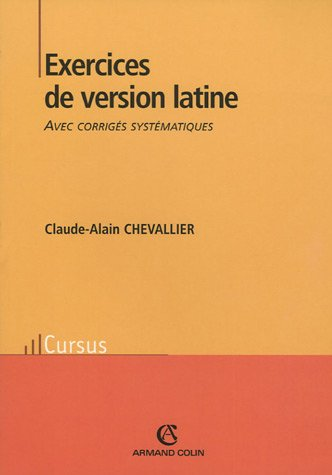 Exercices de version latine par C-A Chevallier