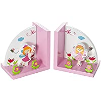 Sujetalibros decorativos con hadas para la habitación de niñas infantiles y bebés
