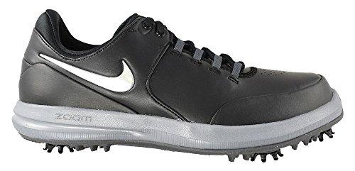 NIKE Herren Air Zoom Accurate Golfschuhe, Mehrfarbig (Dark Grey/Volt Cool 001), 43 EU