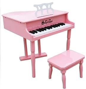 Schoenhut 30 Key Classic Baby Grand Piano (Pink)