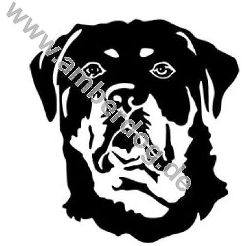 Rottweiler adesivo da parete Art. Nr. TK0112, Plastica, 120 x 115 cm