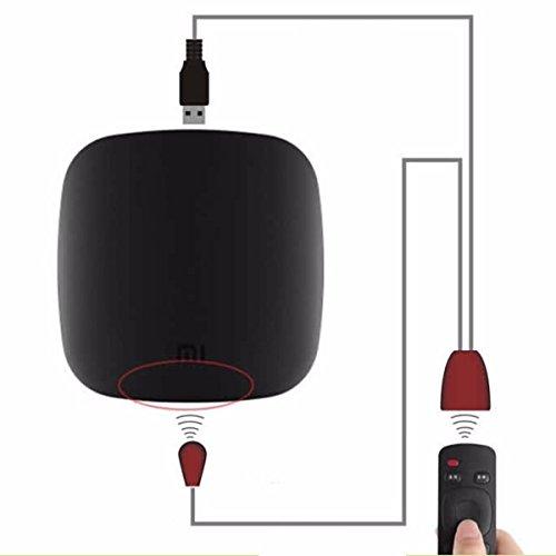 ELEGIANT Ricevitore Infrarossi Telecomando del Ripetitore Emettitore USB Adapter