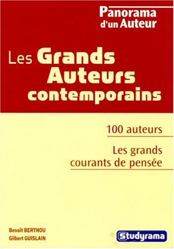Les grands auteurs contemporains