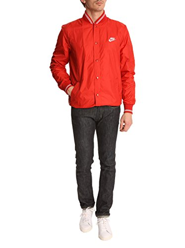 Nike Herren Jacke Oxford Coaches gym red