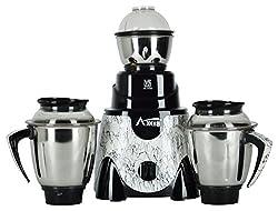 AXIS 750-Watt Gold Primo Metallic Mixer Grinder with 3 Jars (Black)