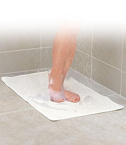 Non Slip Shower Bath Mat Hydro Rug Aqua Carpet Water Area Bathroom Safe by Ideaworks