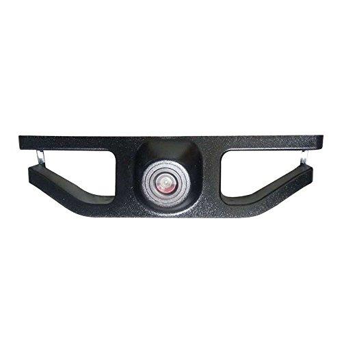 Dynavsal Fahrzeugspezifisches Auto Frontansicht Logo Eingebettete Kamera nach vorne Ansichtssystem mit CCD Wasserdicht IP67 Wide Degree (Mitte), Schwarz für 2016 new Subaru forester Subaru-emblem Vorne