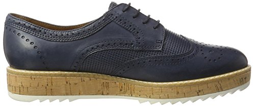 Tamaris 23706, Scarpe Stringate Basse Brogue Donna Blu (NAVY 805)