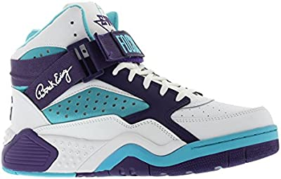 Patrick Ewing Mens Focus Leather Trainers