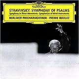 Igor Stravinsky: Psalmen-Sinfonie / Sinfonie Für Bläser -