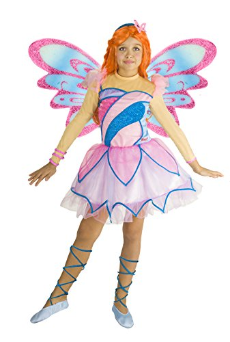 Ciao 11197 - Bloom Butterflix Costume Winx 4-6 anni