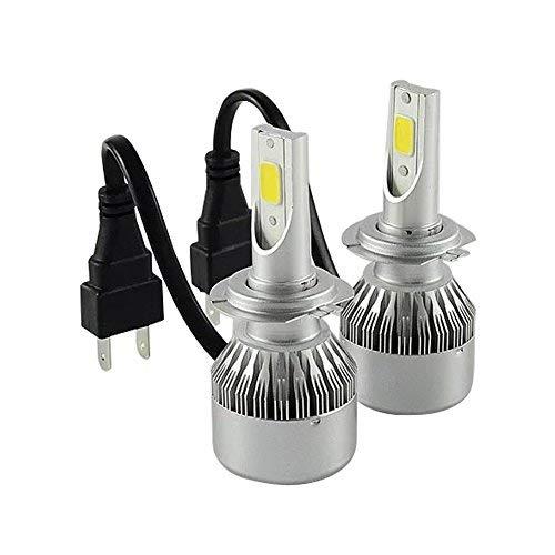 TXVSO8 H7 110W LED COB Faro dell'automobile Kit 9200LM 6000K Bianco Lampade Lampadine, 55W/Bulb