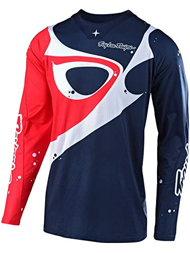 Troy Lee Designs SE Pro Neptune Motocross Jersey Dunkelblau/Rot XL Troy Lee Designs Se Jersey