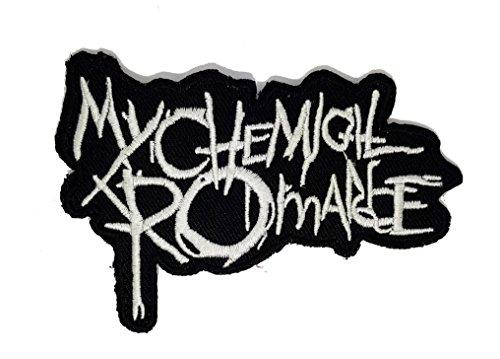 My Chemical Romance MCR Band | Stickerei Hohe Qualität Eisen auf Sew auf Patch Abzeichen für Kleidung Jacken T-Shirts Mäntel Taschen Hüte Geldbeutel Harley Davidson Baby Mütze