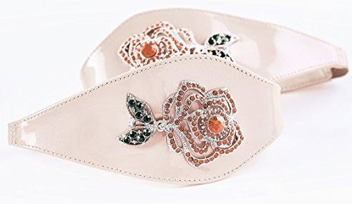 Shoes by Shaherazad  Time to Bloom, Escarpins pour femme rose poudré
