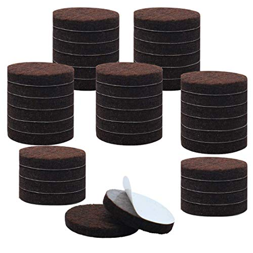 ZCHXD 40pcs Furniture Pads Round 1 3/4