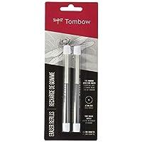 Tombow 57316 MONO Zero Eraser Refills, Round, MONO Zero Precision Tip Eraser Refills, 2.3 mm