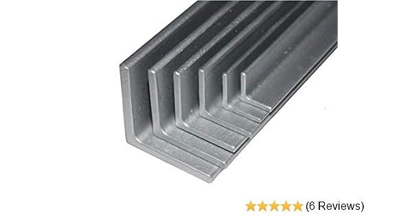 B/&T Metall Stahl Winkel 20x20x3 mm in L/ängen /à 500 mm 0//-3 mm S235 1.0038 ST37