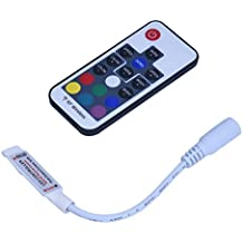 SODIAL(R) Controlador Regulador Mini Mando a Distancia para Luz Tira de LED RGB