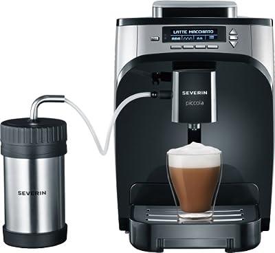 "Kaffeevollautomat ""Piccola Premium"", Farbe: Silber-metallic-schwarz"