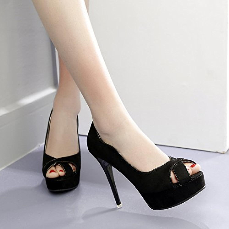 GTVERNH-- piattaforma sandali tallone uno spessore di dodici centimetri super tacco impermeabile piattaforma bocca... | Nuove Varietà Vengono Introdotti Uno Dopo L'altro  | Gentiluomo/Signora Scarpa