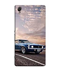 PrintVisa Designer Back Case Cover for Sony Xperia XA :: Sony Xperia XA Dual (Metallic Travel Classic Shiny Chrome Antique Metallic)