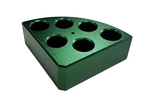 Edu-Lab 153-021 ISG Blockheizung für 8 ml Flasche, Reaktionsgefäß, grün