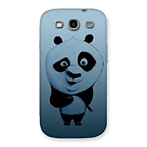 Delighted Panda Puzzled Multicolor Back Case Cover for Galaxy S3 Neo