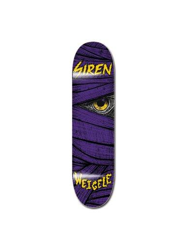 Siren Weigele Lazarus Skateboard Deck, violett