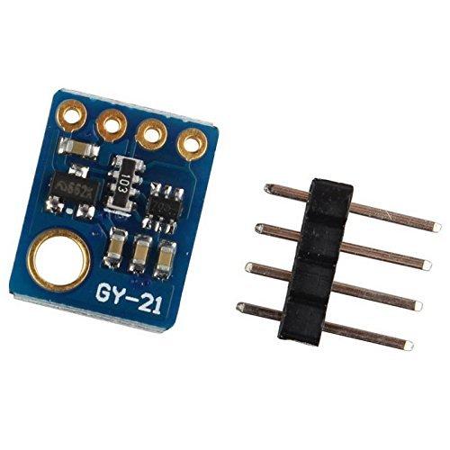 ARCELI GY-21 SHT21 HTU21 Digitales Feuchte-Temperatursensor-Modul Ersetzen Sie SHT11 SHT15 -