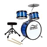 CB Sky Set batteria junior da 5 pezzi, strumento a percussione per bambini / Giocattoli musicali per bambini / Strumento musicale per bambini