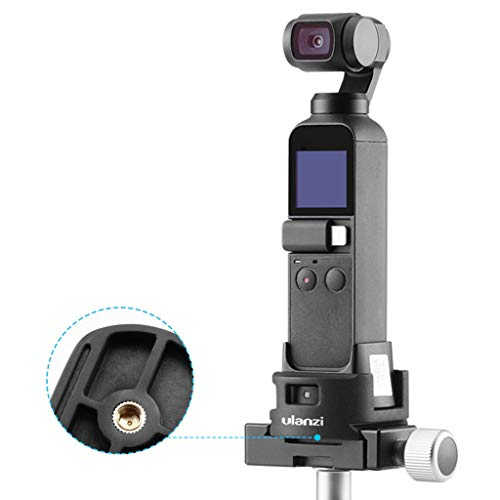 Skryo Stabilisator WiFi Mount Holder Base & Stativadapter für DJI OSMO Pocket Kamera (AA)