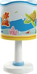 Dalber Lampe de Chevet Ronde - Aquarium