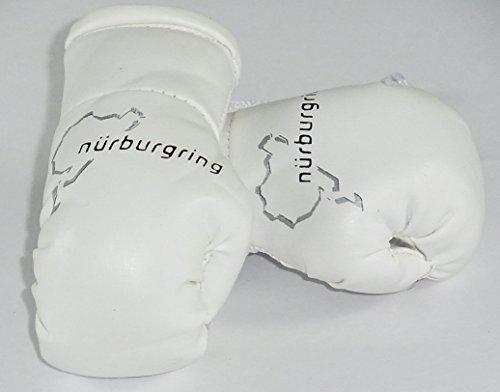 Nürburgring Mini Boxhandschuhe (ideal für von Ihrem Rückspiegel hängen)