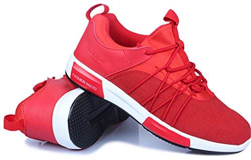 DADAWEN Hommes Chaussures de Multisports outdoor,FR Pointure 39-44 Rouge