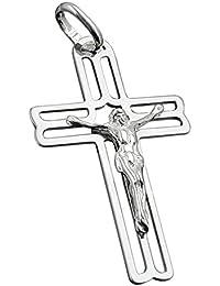 Colgante, Cruz con Jesús, plata 925