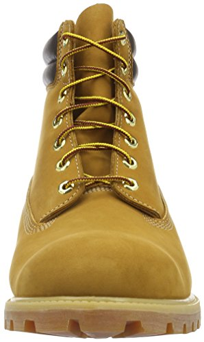 Timberland 6 In Boot, Bottes Classiques Homme Jaune (Wheat)