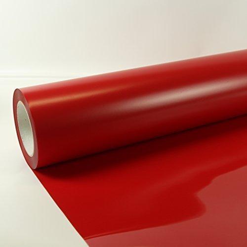 1m x 0,5m Poli-Flex Premium Folie Rot 408 Flexfolie Buegelfolie Poli-Flex -