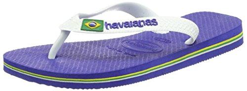 Bild von Havaianas Unisex-Kinder Brasil Logo Zehentrenner, Blau (Brasil Logo Marine Blue), 25/26 EU (23/24 Brazilian)