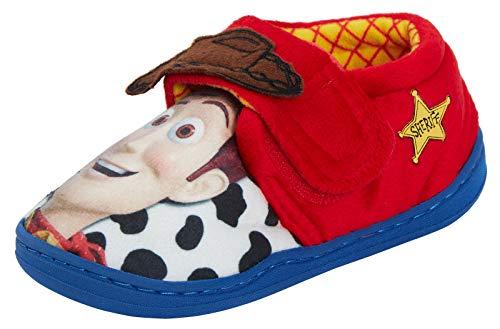Disney Toy Story - Zapatillas de Madera para niños, Color, Talla 28 EU