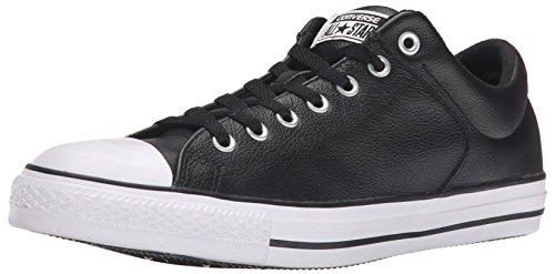 Converse Dainty Leath Ox 289050-52-8 Damen Sneaker Black Black White