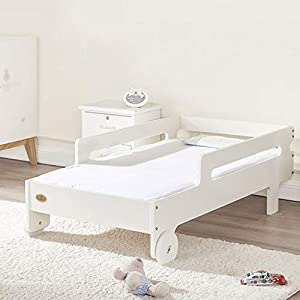 DUWEN-Cot bed Solid Wood Baby Cot Multifunction European Toddler Bed Children's Bed Sofa Bed Game Bed With Guardrail   11