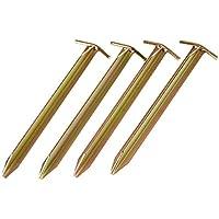 10T Zelthering PEG IT 4T25 30SV Stahl T-Profil Hering, 30cm Zeltnagel, Zeltpflock, Erdnagel, Erdanker im Set mit 4 Stück